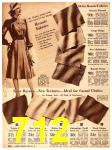 1940 Sears Fall Winter Catalog, Page 712