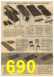 1961 Sears Spring Summer Catalog, Page 690