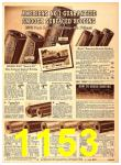 1940 Sears Fall Winter Catalog, Page 1153