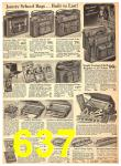 1940 Sears Fall Winter Catalog, Page 637