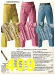 1980 Sears Spring Summer Catalog, Page 409