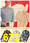 1962 Sears Fall Winter Catalog, Page 672