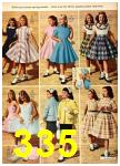 1958 Sears Spring Summer Catalog, Page 335