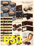 1958 Sears Fall Winter Catalog, Page 650