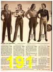 1949 Sears Spring Summer Catalog, Page 191