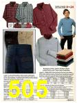 1982 Sears Fall Winter Catalog, Page 505