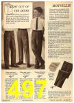 1962 Sears Fall Winter Catalog, Page 497