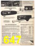1981 Sears Spring Summer Catalog, Page 647