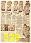 1956 Sears Fall Winter Catalog, Page 329