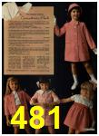 1965 Sears Spring Summer Catalog, Page 481