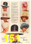 1964 Sears Spring Summer Catalog, Page 151