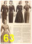 1956 Sears Fall Winter Catalog, Page 63