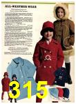 1974 Sears Fall Winter Catalog, Page 315