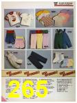 1986 Sears Spring Summer Catalog, Page 265