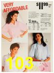 1987 Sears Spring Summer Catalog, Page 103