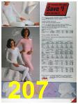 1986 Sears Fall Winter Catalog, Page 207