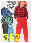 1987 Sears Fall Winter Catalog, Page 352