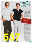 1985 Sears Fall Winter Catalog, Page 537