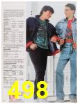 1988 Sears Fall Winter Catalog, Page 498