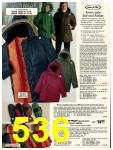 1978 Sears Fall Winter Catalog, Page 536