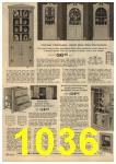 1961 Sears Spring Summer Catalog, Page 1036