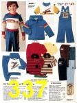 1982 Sears Fall Winter Catalog, Page 337