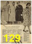 1960 Sears Spring Summer Catalog, Page 129