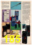 1985 Montgomery Ward Christmas Book, Page 185
