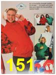 1987 Sears Fall Winter Catalog, Page 151