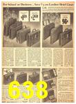 1940 Sears Fall Winter Catalog, Page 638