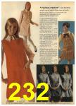 1968 Sears Fall Winter Catalog, Page 232