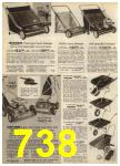 1968 Sears Fall Winter Catalog, Page 738