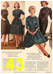 1962 Sears Fall Winter Catalog, Page 43