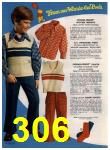 1972 Sears Fall Winter Catalog, Page 306