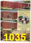 1964 Sears Spring Summer Catalog, Page 1035