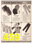1969 Sears Fall Winter Catalog, Page 459
