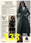 1978 Sears Fall Winter Catalog, Page 138