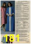 1979 Sears Fall Winter Catalog, Page 181