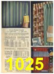 1965 Sears Fall Winter Catalog, Page 1025