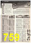 1969 Sears Fall Winter Catalog, Page 759