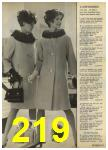 1968 Sears Fall Winter Catalog, Page 219