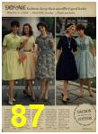 1962 Sears Spring Summer Catalog, Page 87