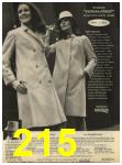 1968 Sears Fall Winter Catalog, Page 215