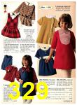 1969 Sears Fall Winter Catalog, Page 329