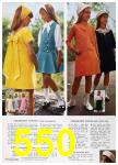 1967 Sears Spring Summer Catalog, Page 550