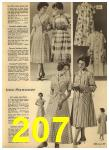 1960 Sears Spring Summer Catalog, Page 207