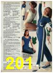 1977 Sears Fall Winter Catalog, Page 201