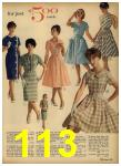 1962 Sears Spring Summer Catalog, Page 113