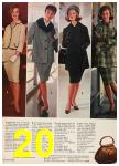 1962 Sears Fall Winter Catalog, Page 20