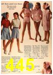 1964 Sears Spring Summer Catalog, Page 445